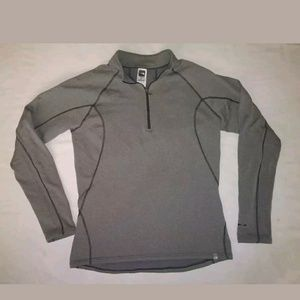 The North Face Flash Dry Grey Pullover Men's Med